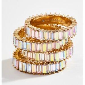 BaubleBar Mini Alidia Iridescent Ring (NWT)